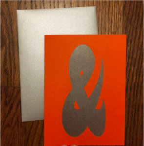 ampersand-cards